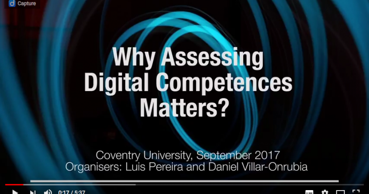 Why Assessing Digital Competences Matters?